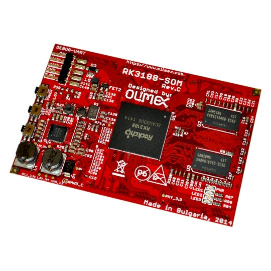 RK3188-SOM-4GB, OLIMEX Ltd.
